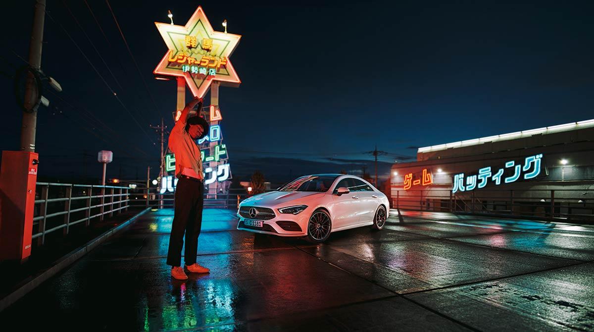 Nuevo modelo Mercedes Benz Clase CLA disponible en Cariope su web oficial