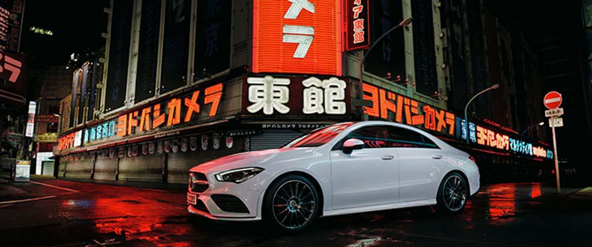 Mercedes CLA de ocasión Cariope en color blanco