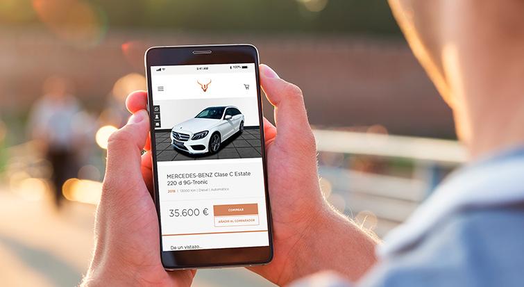 Comprar un Mercedes Benz en Cariope es fácil, cómodo e intuitivo