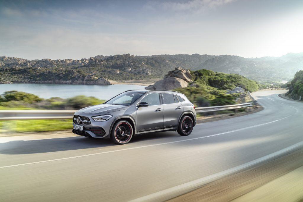 Mercedes-Benz GLA, Edition1, AMG Line, mountain grey MAGNO