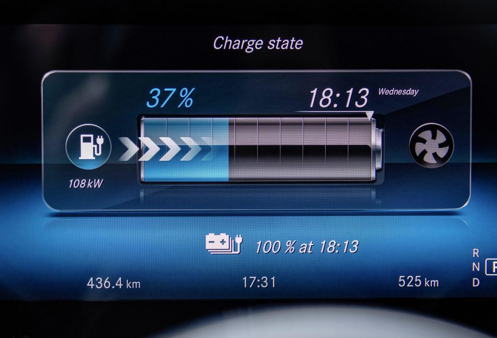 Carga Mercedes eléctrico EQC