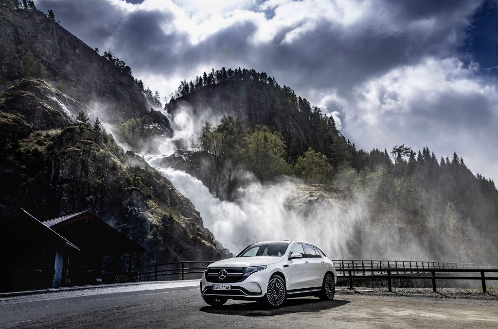 Mercedes eléctrico EQC